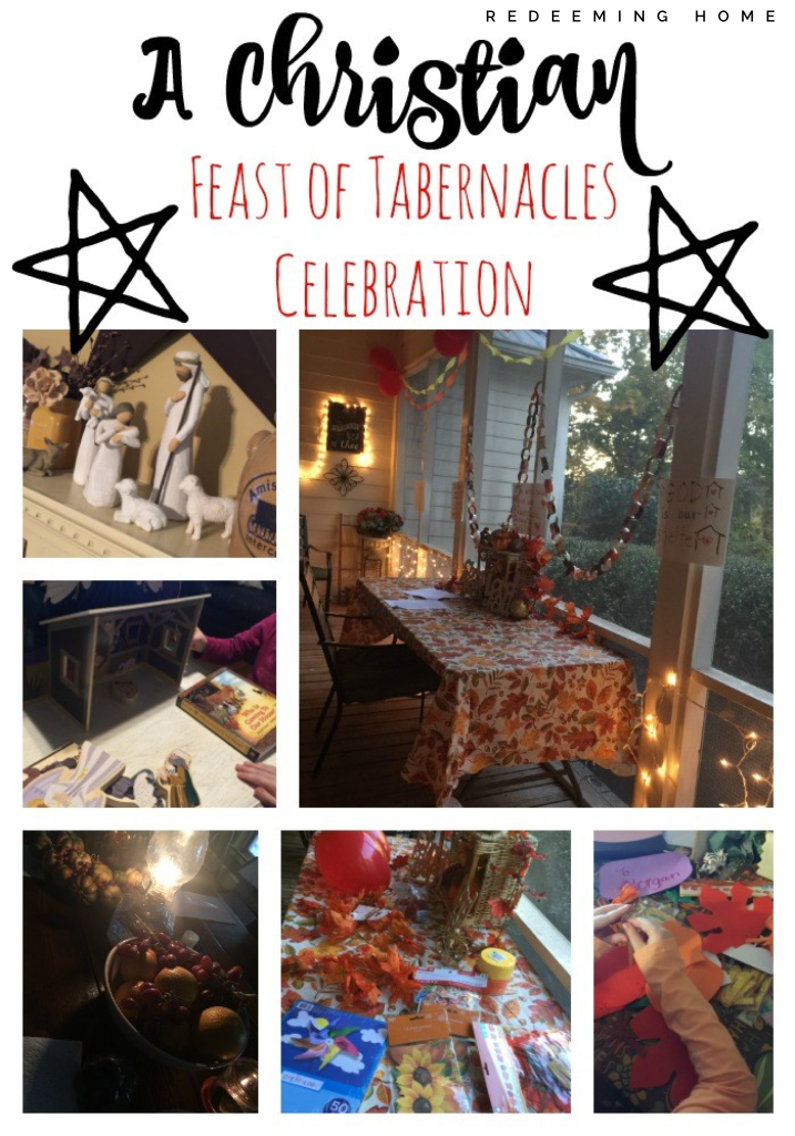 A Christian Feast Of Tabernacles Celebration Redeeming Home