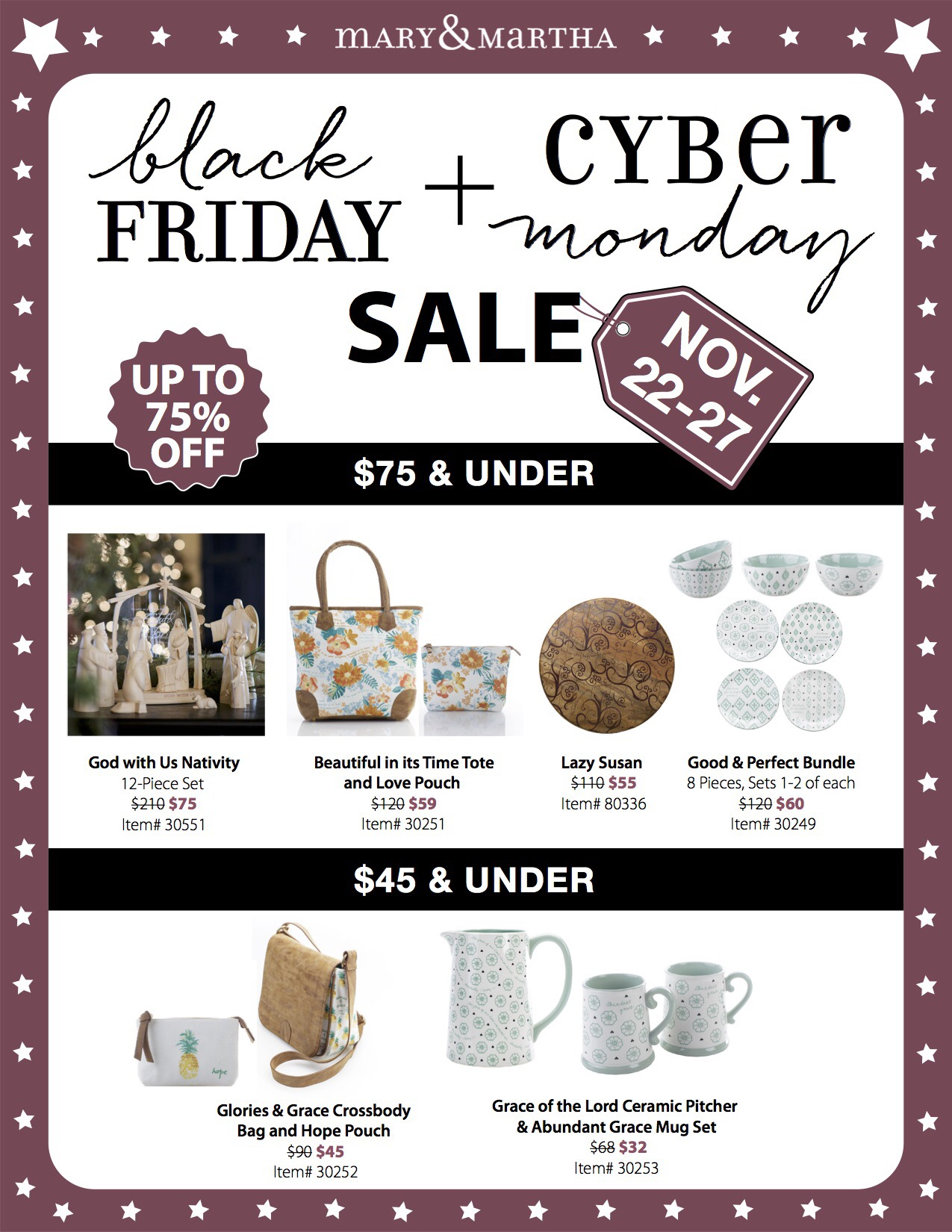 Last Day to Save with Mary & Martha\'s Cyber Monday Sale! – Redeeming ...