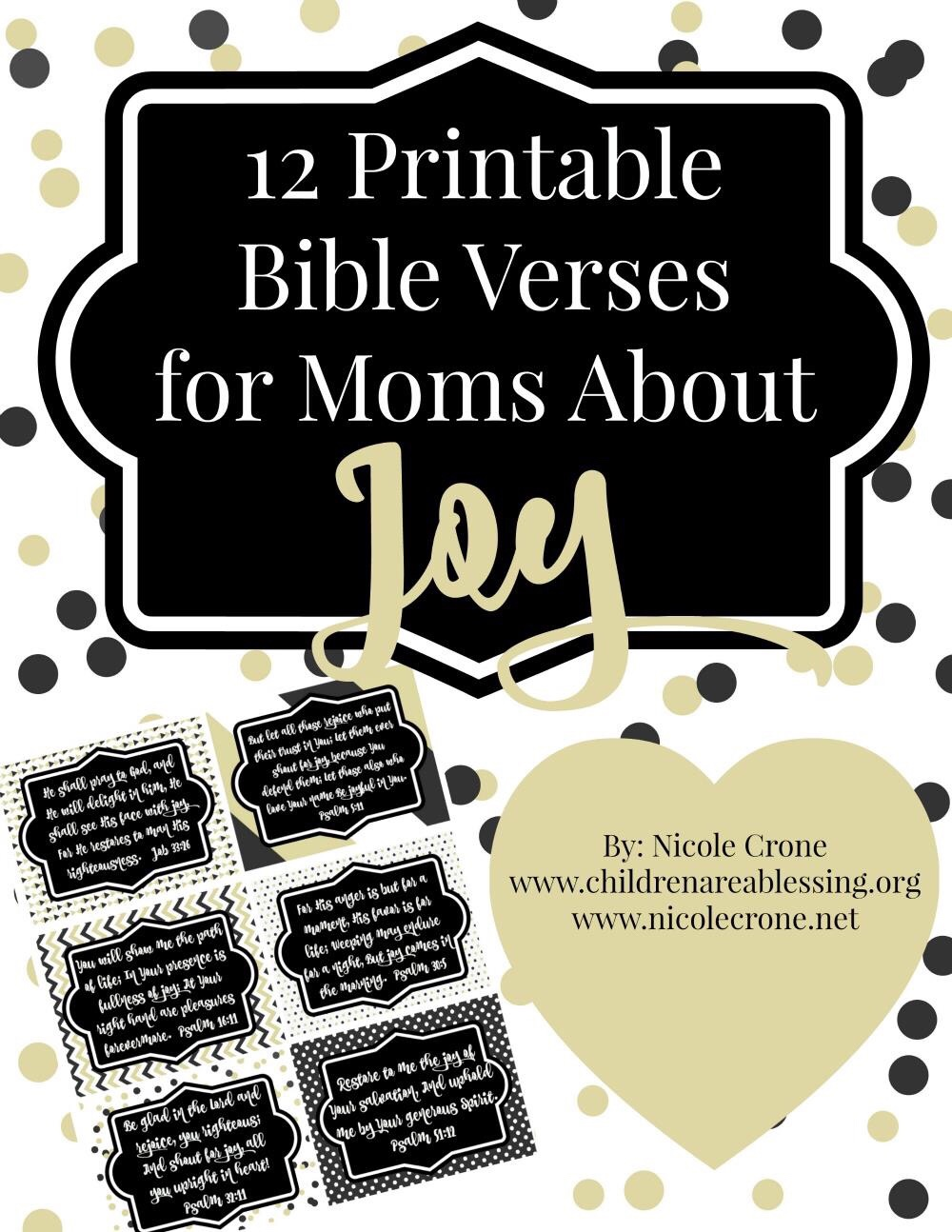 photograph regarding Printable Bible Verse Cards named Totally free Printable Pleasure Bible Verse Playing cards for Mothers Redeeming Household